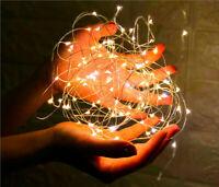 LEDs Christmas Ornament Lights Copper String Mini LED Lights for Home Xmas Gift
