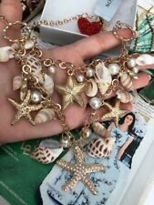 "necklace 18""-22"" Long Natural shells imitation of Pearls stars Good Gift NEW$49"