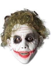 Dark Knight Disfraz Accesorio, Para Hombre Batman Joker Espuma Máscara
