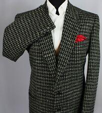 Armani Tweed Jacket Blazer Black Grey 42R EXCEPTIONAL ITEM 3419