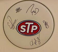 Stone Temple Pilots w/ Chester Bennington 14'' Signed Drumhead RARE