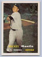 1996  MICKEY MANTLE - Topps COMMEMORATIVE Baseball Card # 7 - NEW YORK YANKEES