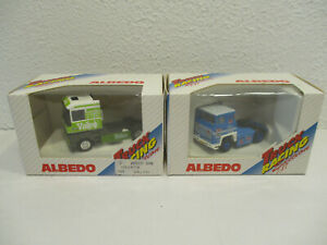 ( K1 / 1 )  1:87 Albedo  2 x Racing Truck  Neu OVP H0 Eisenbah
