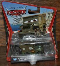 Disney Pixar Cars 2 Die Cast #15 Race Team Sarge 1:55 scale NEW