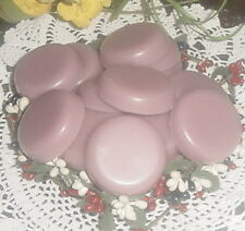 24 LAVENDER BABY POWDER Wax Tarts Wax Melts Scented Handmade Candle Wax WAFERS