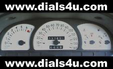 Vauxhall Astra Mk3 / Cavalier (1991-1998) De Gasolina / Muere - 140mph-Dial blanco Kit
