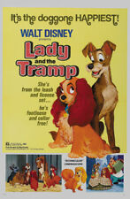 Lady & the tramp cult Disney movie cartoon poster print 12