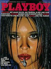 Playboy 05/1982   ANNE PARILLAUD & CRISTINA KELLER*   Mai/1982