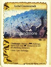 A Game of Thrones LCG - 1x Lethal Counterattack  #S158 - Westeros Draft Pack