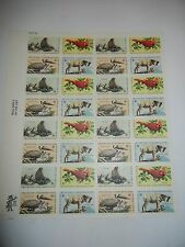 Wildlife Conservation Issue Sheet of 32 x 8 Cent US Postage Stamps 33731