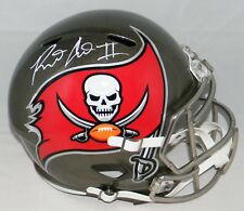 RONALD JONES II AUTOGRAPHED TAMPA BAY BUCS BUCCANEERS FULL SIZE SPEED HELMET JSA