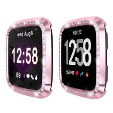 1 Pcs Soft Tpu Watch Case Cover Screen Protector  For Fitbit Versa Lite3C