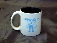 Reproduction Vintage SnoJet Big Blue Logo Coffee Mug