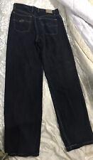 90s Tencel Jeans Wide Baggy Stitch Surf Rip Curl Skater Black Denim Grunge 32