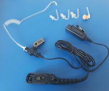 Security Schallschlauch Headset f. Motorola DP3000,DP4000,(MTP830,850 S,Fug)uvm.