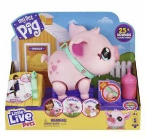 Little Live Pets My Pet Pig She Walks Eats Nuzzles Ready 2 Ship