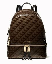 Michael Kors Backpack Bag Rhea Md Backpack Braun New 30h8gezb2v