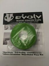 """Evolv Magic Hand Tape .75"""" x 30' Green and Blue New in bag"""