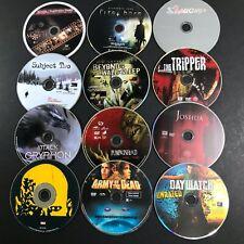 Lot of 14 DVDs Discs ONLY Horror Gore Monsters Suspense Pumpkinhead Slaughter +