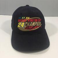 NASCAR 24 Jeff Gordon Winston Cup Champion Hat Cap - Snap Back - Dark Blue