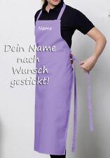 Grillschürze Kochen Grillen Kochschürze - Edel BESTICKT mit Namen nach Wunsch!