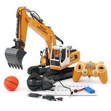 RC SY Toy Radio Control Excavator Digger Engineer vehicle Grab Bucket Crane E561
