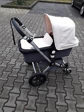 Kinderwagen Bugaboo Cameleon anthrazit mit offwhite Zipper (NUR SELBSTABHOLUNG)