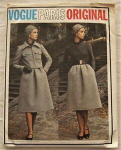 Vintage Dress & Jacket Sewing Pattern*Vogue 2480*Size 8*Cut/Complete*Nina Ricci