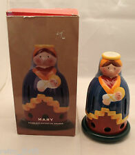 Villeroy and Boch Decolight Mary Baby Candlestick Votive Holder Christmas AS-IS