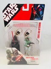 Star Wars Series One Keychains Darth Vader and Boba Fett