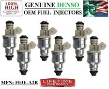 Part#F03E-A2B DENSO *1987-88-1989 Ford F-150 4.9L l6 Reman x6 OEM Fuel Injectors