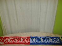 """FC Carl Zeiss Jena/SC Motor Jena Fan Schal """"19.11.1954-20.01.1966"""" AB 20.01.1966"""