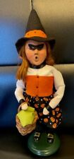 Byers Choice Halloween Girl Dressed as Witch New