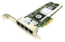 Dell R519P Broadcom Quad Port 5709 Gigabit PCIe Network Card Server Adapter NIC