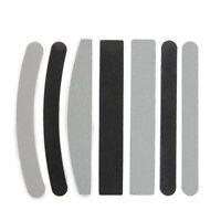 7x Lime Dritte Curve 100/180 per Ricostruzione Unghie Nail Art C9L3 P8U5