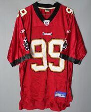 TAMPA BAY BUCCANEERS NFL FOOTBALL SHIRT JERSEY USA #99 SAPP REEBOK
