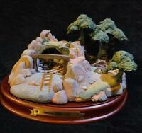 SEVEN DWARFS' JEWEL MINE Walt Disney Classic Collection w/Base, Box, COA & DOC!!