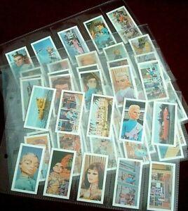 THUNDERBIRDS Full Set (2nd Series)50 Cards Gerry Anderson 1967 Rare Barratt & Co