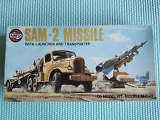 Airfix SAM-2 Missle with Launcher and Transporter. Open box, new, vintage rare