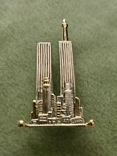 New York City's Twin Towers Brooch Pin