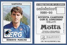 FIGURINE CALCIATORI PANINI 1989/90 - NUOVA - N.298 MANCINI - SAMPDORIA