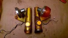 HONDA CB450  Ears and Blinkers Headlight Mounts Candy Gold 1970 1971 1972 1973