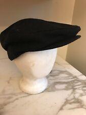 VAN HEUSEN Men's BLACK NEWSBOY HAT Cabbie Cap One Size