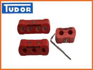 AccuSpark 8mm -10mm HT lead  wire Separators - Dividers set X  3