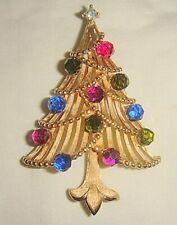 Unusual Trifari Christmas Tree Pin