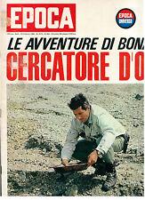 EPOCA N. 804 20 FEBBRAIO 1966 WALTER BONATTI SOPHIA LOREN MORTE ELIO VITTORINI
