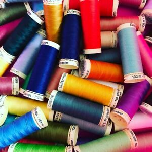 Gutermann Sewing Thread - 100% Polyester 100 metres