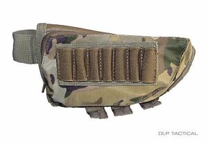 DLP Tactical Sniper Cheek Pad Rest / Ammo Pouch for Rifle / Shotgun