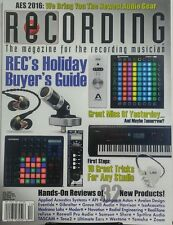 Recording December 2016 Holiday Buyer's Guide Newest Audio Gear FREE SHIPPING sb