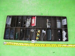 vintage mixed lot lamposts crane small spares n gauge model railway n17